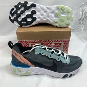 Women's Nike React BQ6166-300 running shoes sz 8.5